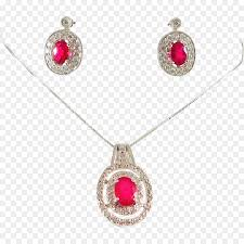 earring necklace ruby images Ruby earring necklace locket jewellery ruby png download 1556 jpg