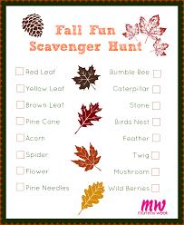 triyae com u003d fall backyard scavenger hunt various design