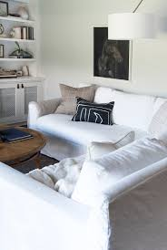 best slipcover sofa how we choose white slipcovered sofas room for tuesday blog