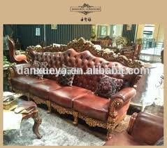 Leather Sofa Co Antique Style Living Room Luxury Royal