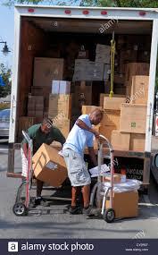 massachusetts cape cod hyannis black man boxes delivery truck van