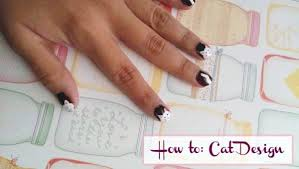 nail art how to cute cats college fashion
