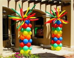 balloon columns catalog party decorations by teresa
