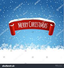 merry christmas background illustration red realistic stock vector