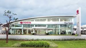 toyota showroom showroom event plaza toyota gading serpong youtube