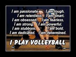 volleyball motivation quote poster i play volleyball photo wall
