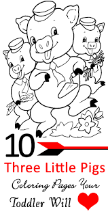 3 pigs coloring pages 28 images 3 pigs coloring