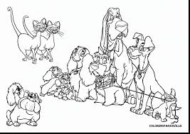 remarkable lady lovely locks coloring book with lady and the tramp