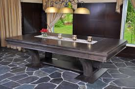 Dining Room Pool Table Combo Astonishing Dining Conversion Tables Robertson Billiards In Room