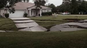 Sinkhole In Backyard Sinkholes In Florida Five Star Claims Adjusting