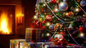 light balls christmas tree new year merry christmas
