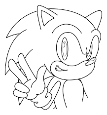 coloring pages sonic sonic coloring pages 2 coloring pages to print