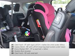 Seat by The Car Seat Lady U2013 Chrysler Pacifica