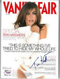 Vanity Fair Magazine Price Celebrity Autographed Magazines Page 1 Allsports Productions