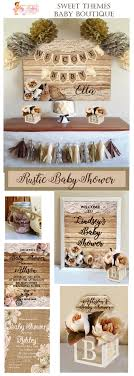 rustic baby shower rustic baby shower collections baby shower