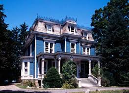victorian style house the mania for mansard roofs red hook verandas and mansard roof