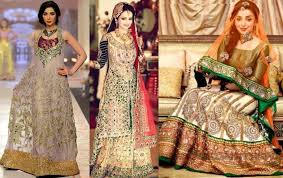 new bridal dresses baraat and walima day bridal dresses designs collection 2017 18