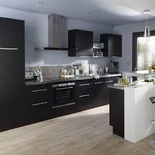 cuisine en noir meuble cuisine noir cooke lewis castorama 11 quelle