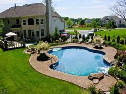 Backyard Pool Ideas Pictures Backyard Swimming Pool Ideas 8 Inground Pool Inground Pools I