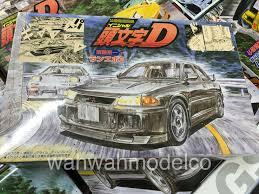 mitsubishi lancer evo 3 initial d fujimi 183381 1 24 initial d 9 lancer evolution iii model car