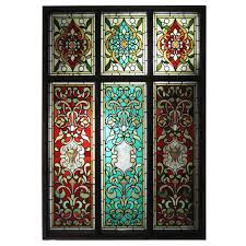 hand painted stained glass windows from a unique collection of antique and modern windows