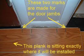 Installing Wood Laminate Flooring Installing Last Row Of Laminate Flooring In Hallways