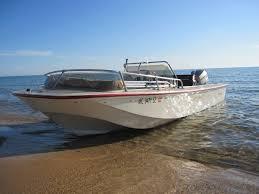 my boston whaler newport on lake michigan photo credit jeff