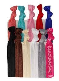 no crease hair ties no crease hair ties 10 pack by kenz laurenz beauty