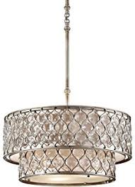 Lucia Chandelier Feiss F2569 3bus Lucia 3 Light Shade Pendant