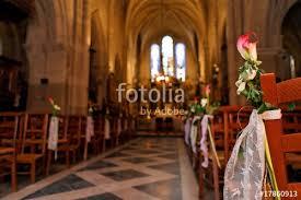 decoration eglise pour mariage décoration d église pour un mariage photo libre de droits sur la