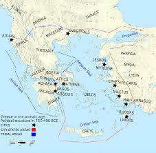 Map Of Crete Greece by File Map Of Archaic Ancient Greece 750 490 Bc English V2 Svg