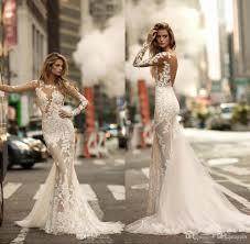 trumpet wedding dresses 2018 gorgeous open back trumpet wedding dresses sheer