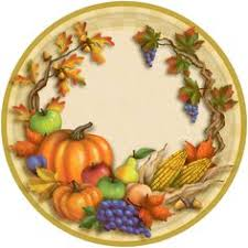 thanksgiving floral plastic tablecloths thanks for the harvest