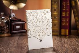 personalized laser cut invitations wedding invitations card hollow