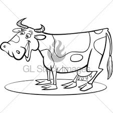 cartoon pig for coloring page gl stock images
