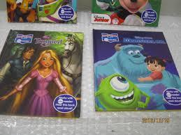 disney princess story reader 4 books mickey monster