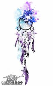 best 20 purple ink tattoos ideas on pinterest dreamcatcher
