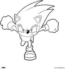 Sonic The Hedgehog Printables Coloring Pages Sonic 02 Cartoons Free Sonic Coloring Pages