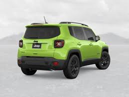 new jeep renegade green new 2018 jeep renegade for sale sheboygan wi