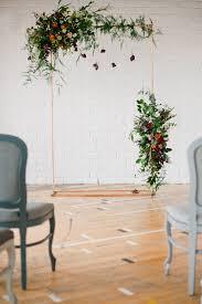 wedding arches uk glam industrial mixed with botanical wedding inspiration