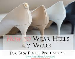 White Comfortable Heels Practical How To Wear Heels To Work Without Pain Busy Female