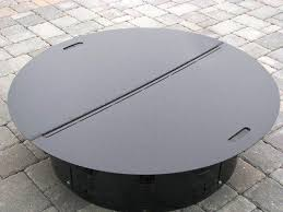 Firepit Covers Pit Covers Metal Home Depot Fireplaces Firepits