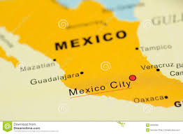 Mexico Map by Mexico Map Stock Images Image 5941924