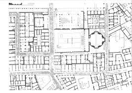 basilica floor plan the plans of ostia from scavi di ostia i
