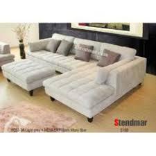 Big Sectional Sofas by 5pc New Modern Grey Microfiber Big Sectional Sofa Set S150lg