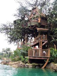 20 Amazing Fairytale Tree Houses Around the Globe  Tree house and