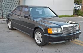 1986 mercedes benz 190e 2 3 u2013 16v cosworth dogleg 5 speed real