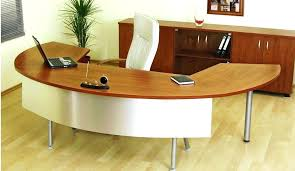 Curved Office Desk Curved Office Desk Image Of Curved Office Desk With Computer