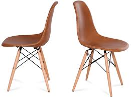 eames dsw chair leather platinum replica