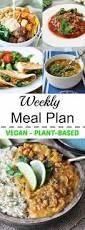 25 best vegan weekly meal plan ideas on pinterest weekly food